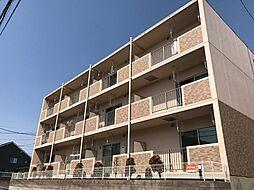 埼玉県越谷市大字弥十郎の賃貸マンションの外観