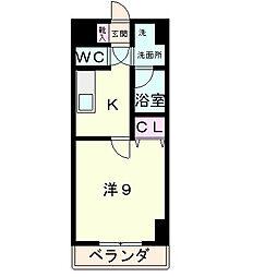 エンゼルプラザeast1[9階]の間取り