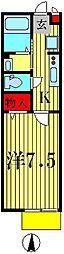 メゾンソフィア[2階]の間取り
