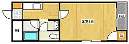 アベニューサザンプラム[3階]の間取り