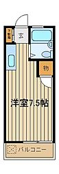 シアターハイム[2階]の間取り