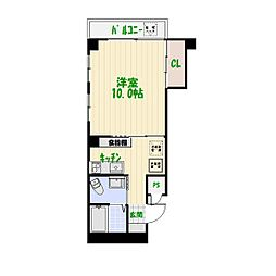 亀有ローズマンション[5階]の間取り