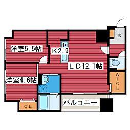 F006[2階]の間取り