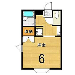 小華マンション[3階]の間取り