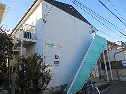 大阪府箕面市小野原東2丁目の賃貸アパートの外観