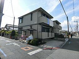 大阪府羽曳野市白鳥2丁目の賃貸アパートの外観