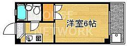 ロイヤルコーポタカノ[118号室号室]の間取り