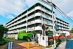 帝塚山グリーンハイツ[4階]の外観