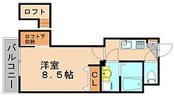 アクタス博多ステーションタワー[9階]の間取り