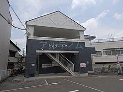 京都府京都市山科区川田百々の賃貸アパートの外観