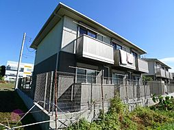 千葉県松戸市上矢切の賃貸アパートの外観