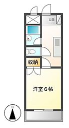 DAIMAN HOUSE昭和橋[2階]の間取り