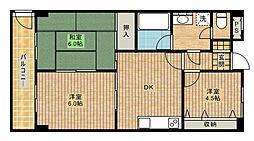 ソニックファームII[305号室]の間取り