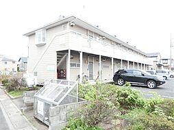 埼玉県鴻巣市登戸の賃貸アパートの外観