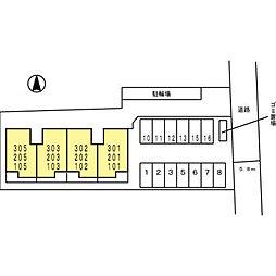 井マンション[103号室]の外観