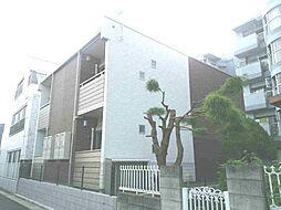 東京都葛飾区西亀有1丁目の賃貸アパートの外観