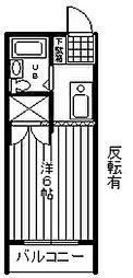 サンハイム小作台[3階]の間取り