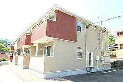 広島県広島市佐伯区五日市町下河内の賃貸アパートの外観
