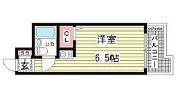 杉本マンション[203号室]の間取り