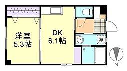 藤ガーデン[2階]の間取り