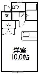 マンションイーグル[103号室]の間取り