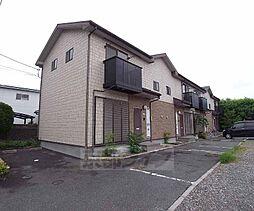 京都府八幡市橋本平野山の賃貸アパートの外観