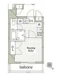グランヴァン東池袋Ⅱ[3階]の間取り
