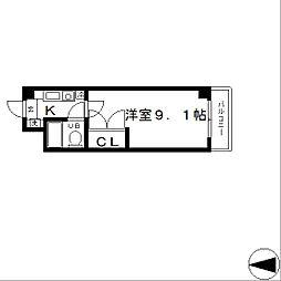 石山IVY HEIGHT[3階]の間取り