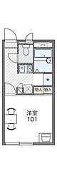 Osaka Metro谷町線 大日駅 徒歩8分の賃貸アパート 1階1Kの間取り