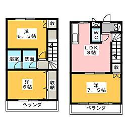 メゾンエル[1階]の間取り