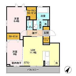 北上尾駅 8.0万円