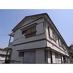 奈良県生駒市新旭ケ丘の賃貸アパートの外観