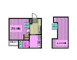 vivienda 川口[103号室]の間取り