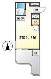 SIMON茶屋ヶ坂[2階]の間取り