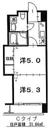 定禅寺HILL[6階]の間取り