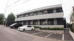埼玉県川口市鳩ヶ谷本町3丁目の賃貸アパートの外観