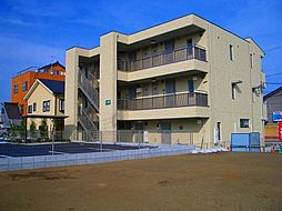神奈川県高座郡寒川町岡田の賃貸アパートの外観