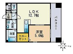 MM-5[11階]の間取り