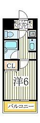 ソレイユ天王台[2階]の間取り