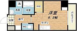 エスパシオ・コモド大阪新町[4階]の間取り