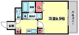 ACTY天満橋(アクティ天満橋) 9階1Kの間取り