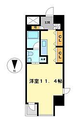 エヌエスジール泉(N・S・ZEAL IZUMI)[2階]の間取り