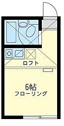 ユナイト 金沢八景ペレイラ[2階]の間取り