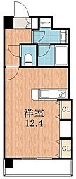 KAISEI四天王寺[5階]の間取り