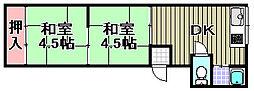 [テラスハウス] 大阪府和泉市葛の葉町 の賃貸【/】の間取り
