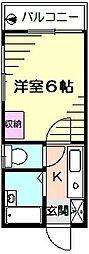 桜ヶ丘アイランド[1階]の間取り