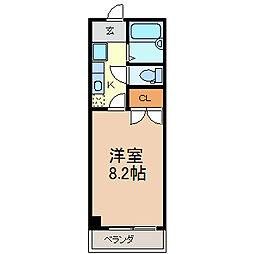愛知県知多郡武豊町字熊野の賃貸マンションの間取り