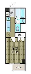 新百合 和田文ビル[5階]の間取り