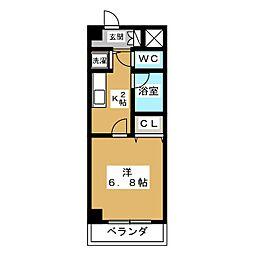 SEAGULL二条[3階]の間取り