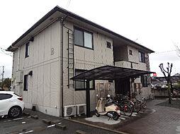 愛媛県松山市東石井4丁目の賃貸アパートの外観
